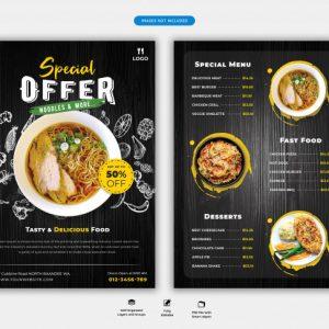 Menu Design (Food)